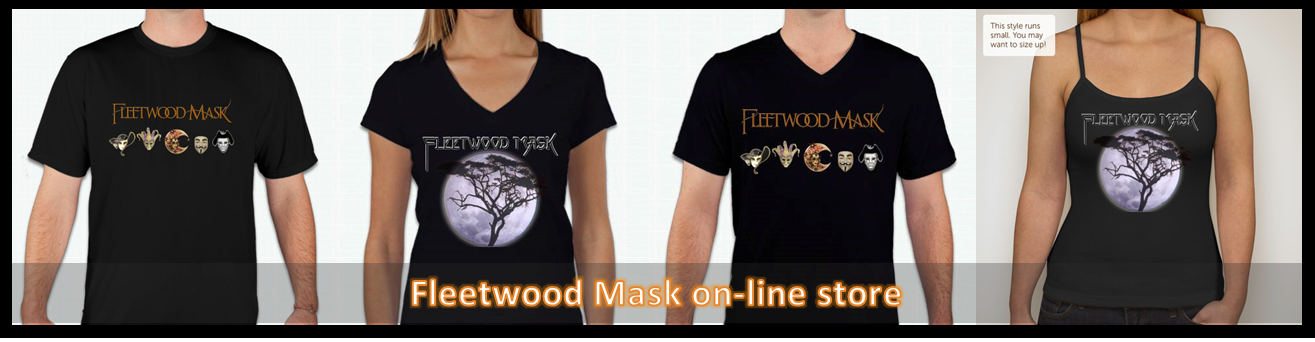 Fleetwood Mask merchandise store for the ultimate Fleetwood Mac experience